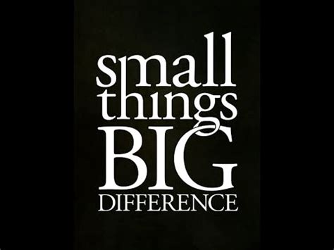 your words matter small things big difference