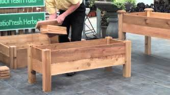 pdf build your own raised planter box plans free