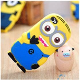 Casing Hp Iphone 4 4s Despicable Me Minion One Direction Custom Hardca minion despicable me tpu for iphone 4 4s blue