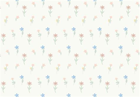 pattern vector background tutorial pastel flowers pattern background vector free vectors