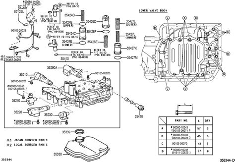 Toyota Camry Transmission Problems Hooting Transmission Problems The Toyota U140f