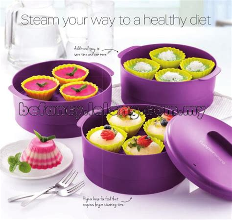 Steam It Purple Ungu 3 Layer Tupperware Steam It Steamer 3 End 6 3 2017 9 15 Pm Myt