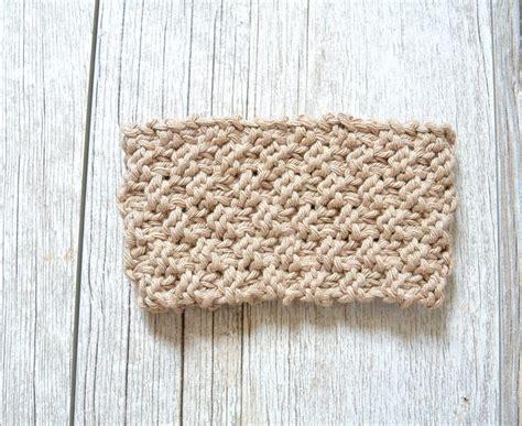 coffee cozy knit pattern seed stitch knit coffee cozy in a stitch