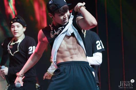 Kaos Produce 101 Kpop Korea 10 foto otot abs jimin bts yang sempat bikin army melongo