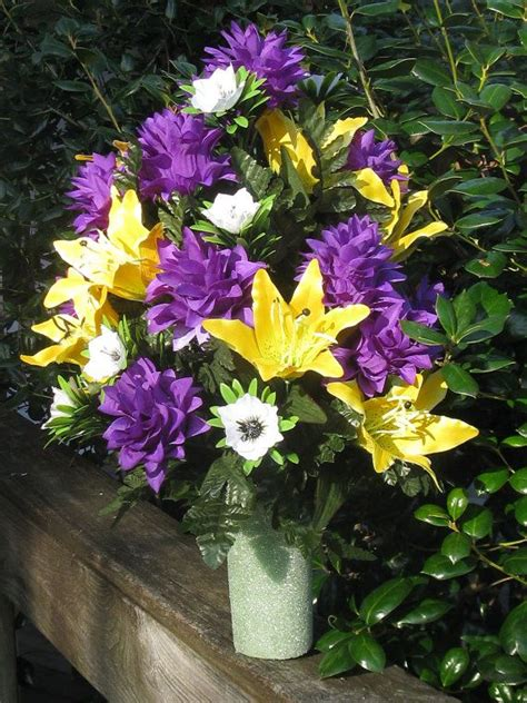 silk flowers for cemetery vases 58 best images about flower arrangement s inside and outside of the home on floral