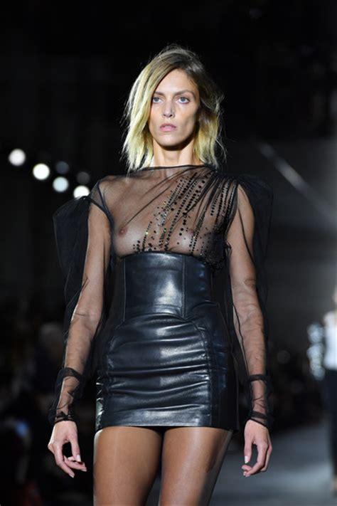 The Week In Nip Slips by Anja Rubik Photos Laurent Runway Fashion