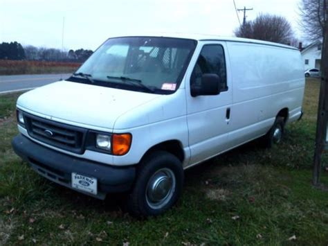 purchase used 2004 ford e 350 work van in yadkinville north carolina united states for us