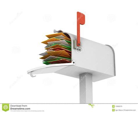 cassetta postale piena cassetta postale piena 2 fotografia stock libera da