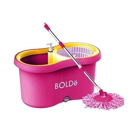 Pel Lantai Pink jual bolde 169 plus mop alat pel lantai pink