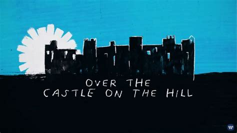 ed sheeran castle on the hill chord chords castle on the hill
