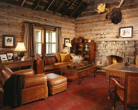 houzz family rooms log cabin family rooms home design ideas pictures