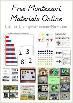 free printable montessori albums montessori montessori education and education on pinterest