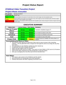 It Project Status Report Template Status Report Template Privacy Policy Template