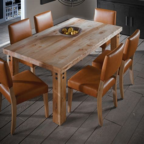 canadel loft custom dining customizable rectangular