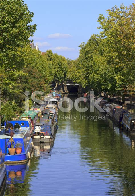 the regents canal an narrowboats in london on the regents canal stock photos freeimages com
