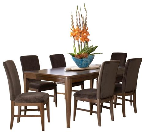 brussels traditional dining room set 7 piece set homelegance beaumont 7 piece dining room set in medium