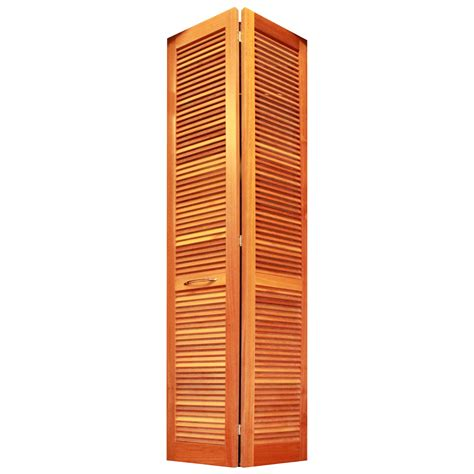 Bi Fold Doors Full Louver Louvered Doors Closet