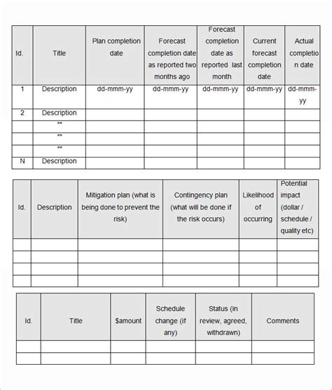 monthly management report template 28 free word excel