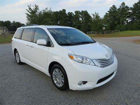 repair anti lock braking 2011 toyota sienna seat position control sell used 2011 toyota sienna xle limited dvd navigation 8 passenger back up camera in