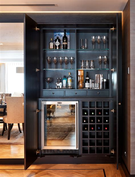 Glass Bar Cabinet Designs Marvelous Liquor Cabinet Home Renovations With Lighting Design Wine Cooler