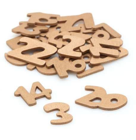 Adventskalender Zahlen Holz by Adventskalender Zahlen Aus Holz Gold Kaufen