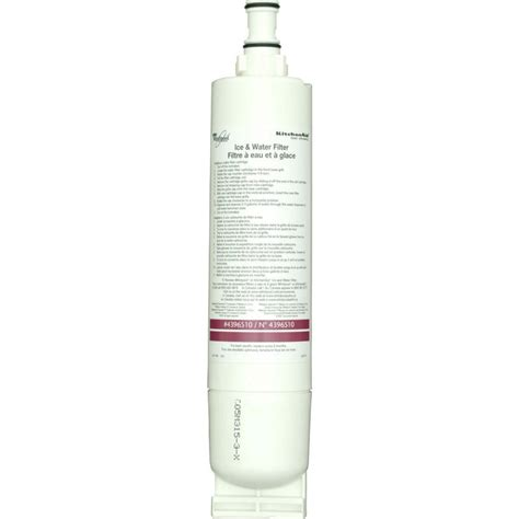 Kitchenaid 4396510 Refrigerator Water Filter Quarter Kitchen Aid Refrigerator Water Filter