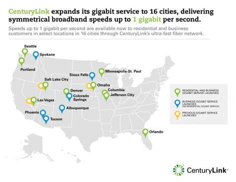 centurylink service area map here s where centurylink is installing its high speed