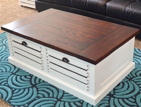 diy coffee table with storage botb 1 9 15 centsational