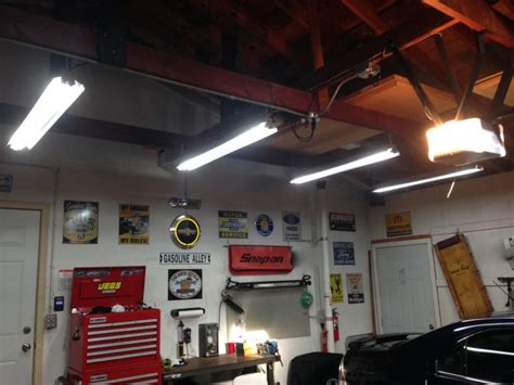 Lighting Ideas For Garage garage lighting ideas ford f150 forum community of ford truck fans
