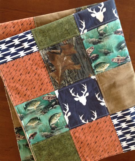 Camo Patchwork Quilt Sets - woodland baby quilt camo baby quilt aztec baby quilt