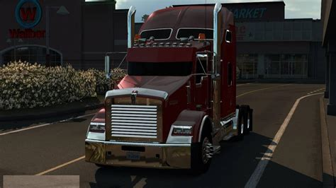 kenworth custom parts kenworth t800 2016 custom 187 american truck simulator mods