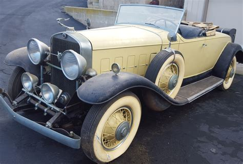 1931 cadillac roadster for sale 1931 cadillac v8 roadster model 355a for sale on bat