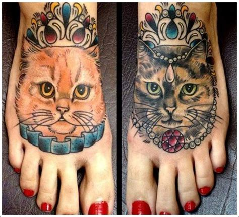 Tattoo Life Magazine Cat King | cat king and queen tattoo designs busbones