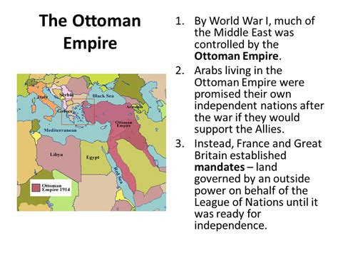 after the war ottoman lands were divided into southwest asia ppt download