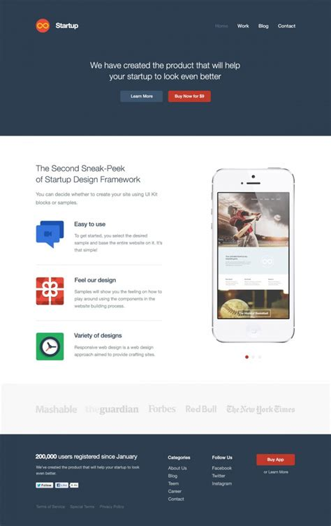 Startup Website Template Free Weekly Web Design Development News Collective 12 Jquery Script