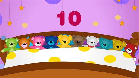 10 in the bed ten in the bed ten in bed nursery rhyme youtube