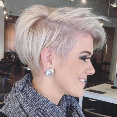 latest short trendy hairstyles  fine hair