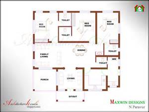 kerala home design map architecture kerala 3 bhk single floor kerala house plan