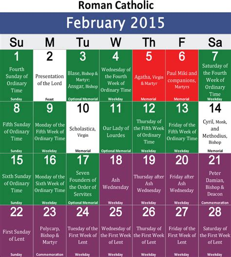 Catholic Calendar 2015 2016 Protestant Liturgical Calendar Search Results