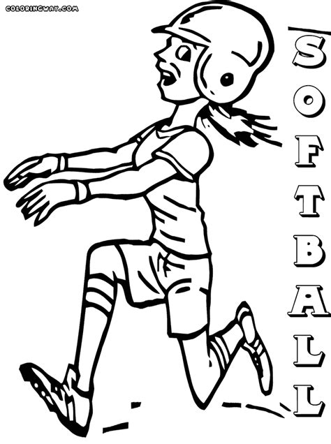 softball coloring pages softball coloring pages coloring pages to and print