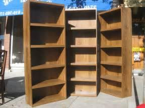 Corner Black Bookcase Bookshelf Wall Home Decor