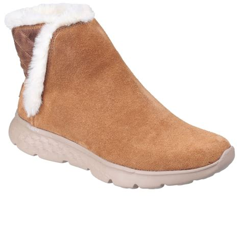 on the go skechers on the go 400 womens pull on ankle boots