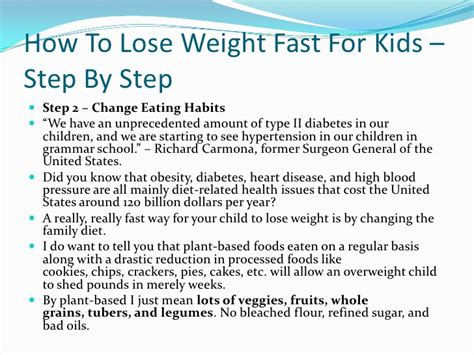 12 Tips On How To Lose Fast by How To Lose Weight In A Week For 12 Year Olds Howsto Co