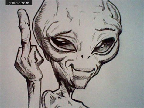 dessins paul alien griffon dessins