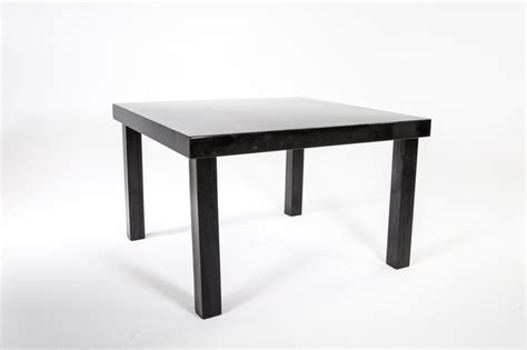 Amalfi Table L by Signature Rentals Amalfi Black Tables Benches