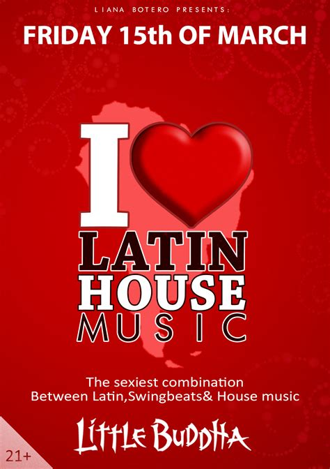 latin house music i love latin house music 183 15 march 2013 little buddha amsterdam 183 event