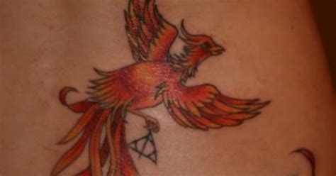 harry potter phoenix tattoo fawkes the tattoos