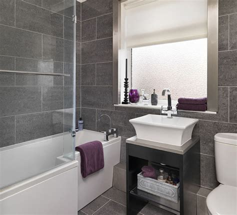 Grey Tile Bathroom Ideas Bathroom In Grey Tile Part 2 In Bathroom Tile Design
