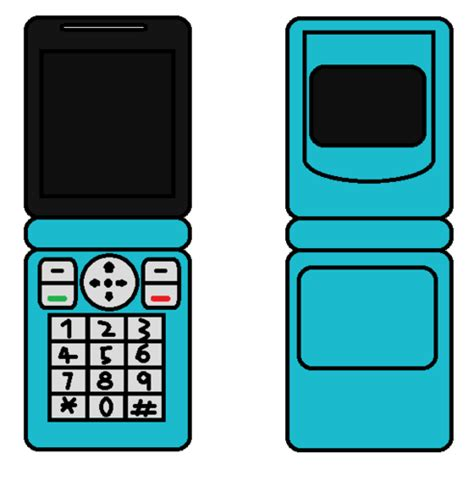 Papercraft Phone - nintendofan12 s papercraft things images cellphone flip