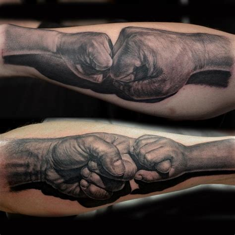 father and son tattoos by jose perez jr tattoonow